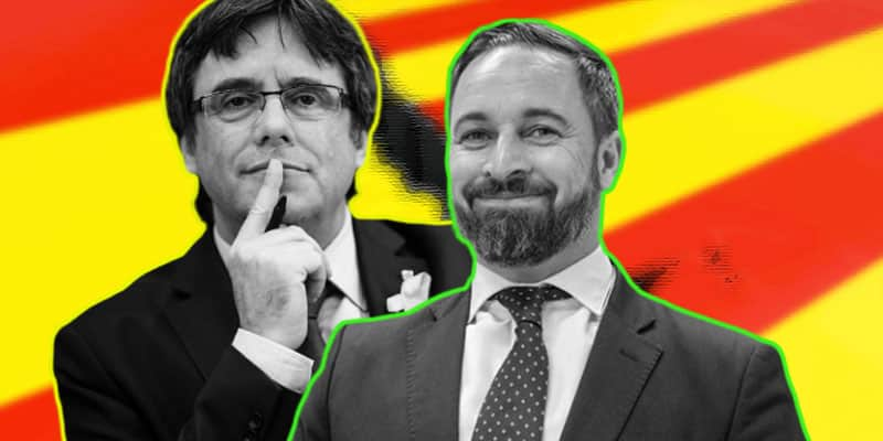 Abascal y Puigdemont